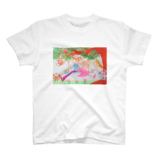 ハッピー♡ブランコ🧡HAPPY&Rich T-shirts