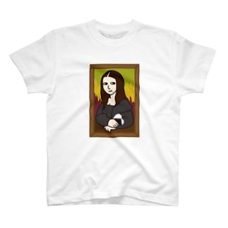 モナリザとおむすび T-shirts