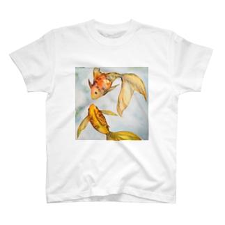 金魚達のワルツ T-shirts