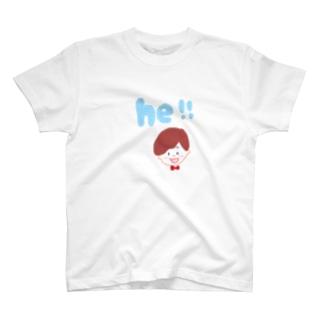 he ! T-shirts
