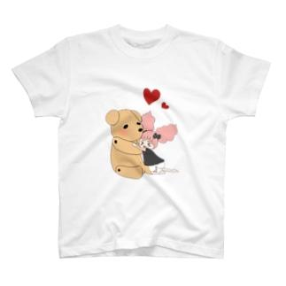 ぽんちゃんとくまくま T-shirts