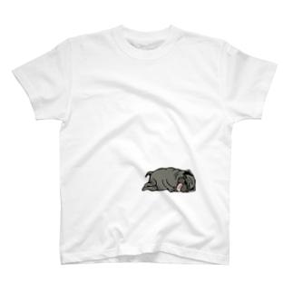 寝ぱぐもん。 T-shirts
