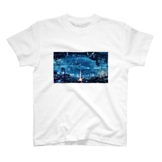 東京タワー T-shirts