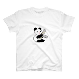 Cross パンダ T-shirts
