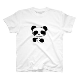 手話で手話を表現するパンダ T-shirts