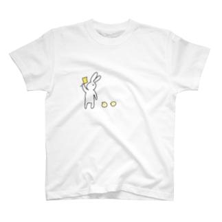 うさぎとひよこ T-shirts