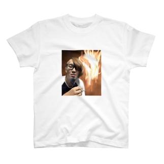 着火ファイヤー T-shirts