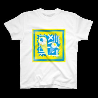 MINOGURA【ミノグラ】の気付双眼 T-shirts