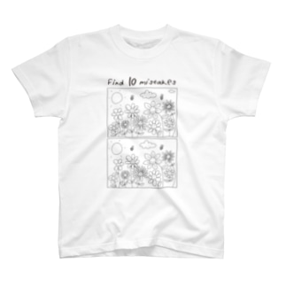 アパレル知育 「まちがいさがし」  T-shirts