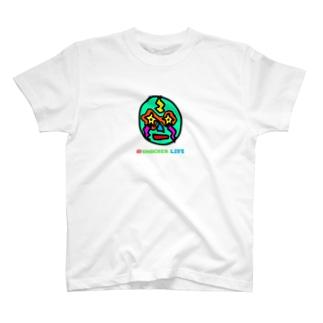 SHOCKER LIFEマーク T-shirts