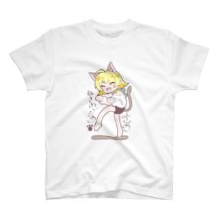 忍び猫のやえちゃん T-shirts