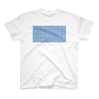 淡虹_A_長 T-shirts