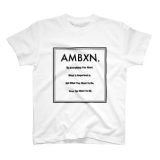 AMBXN.-アンビション- T-shirts