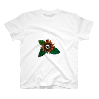 一途なひまわり(文字なしver) T-shirts