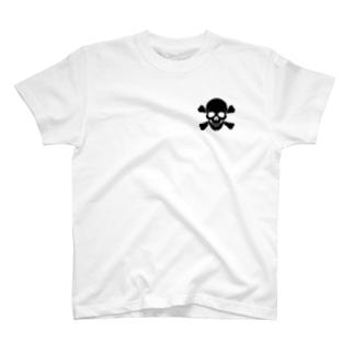 海賊部髑髏科2 T-shirts