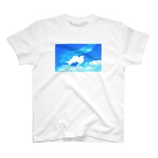 夏空のエンジェル T-shirts