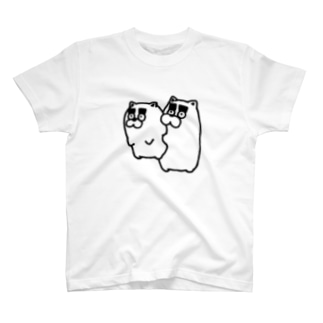 悪いことして捕まった犬。 T-shirts