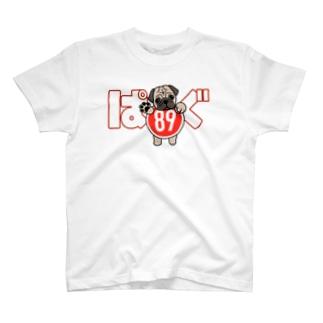 PUG-パグ-ぱぐ-パーグー Tシャツ T-shirts