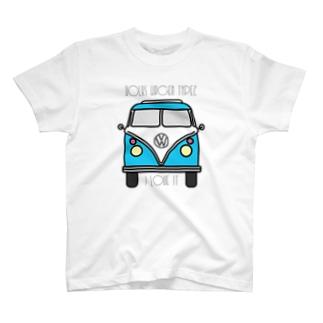 JOKERS FACTORYのVOLKSWAGEN TYPE2 T-shirts