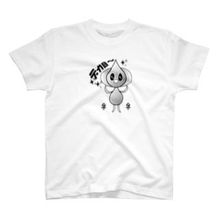ガーリックさん T-shirts