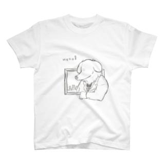 紳士犬 T-shirts
