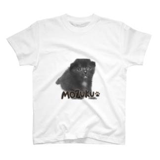 黒猫もずく T-shirts