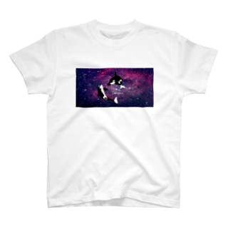 シャチ:ギャラクシー T-shirts