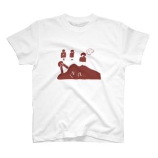 習慣って怖い T-shirts