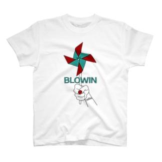 ChackEliAssのBlowin T-shirts