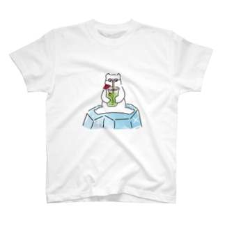 しろくまヘンリー(メロンソーダ) T-shirts