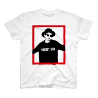 HONEST BOY T-shirts