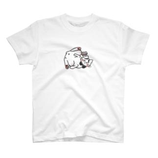 ほんのうをわすれた動物たち「ねこ」 T-shirts