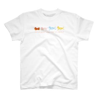 お散歩日和♪ T-shirts