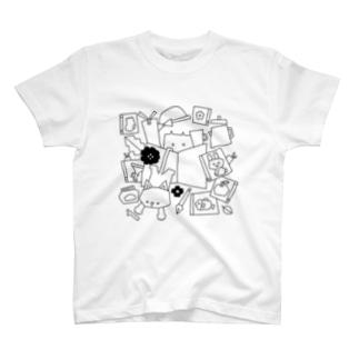 BOOKCATCOFFEE T-shirts