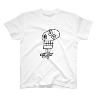 もんすたJr.01 T-shirts