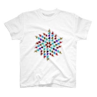カラフルズ サイケデリック40 T-shirts