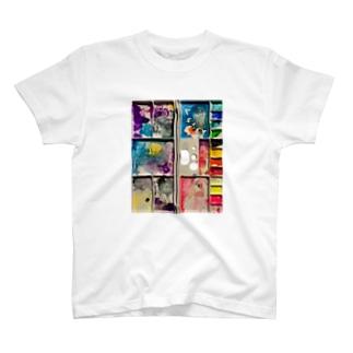 生きた後のパレット T-shirts
