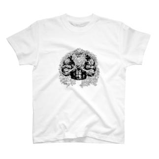 なかむらしんたろうを拡張する展示 vo.2の西田真魚 T-shirts