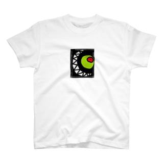 不気味な笑み T-shirts