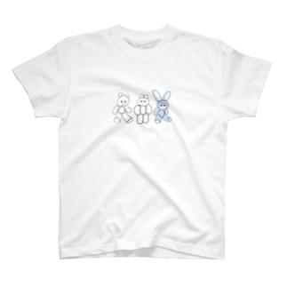 くまきち・きんたろう・うさじ T-shirts