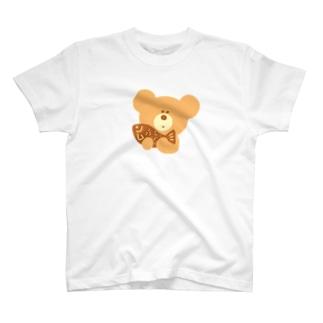 kiboriくま ベージュ T-shirts
