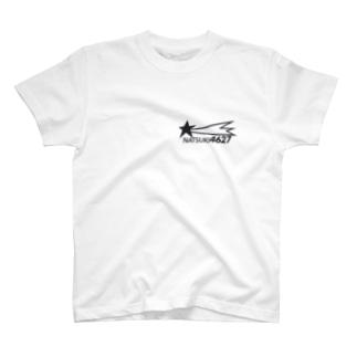 NATSUKI 4627 (黒字) T-shirts