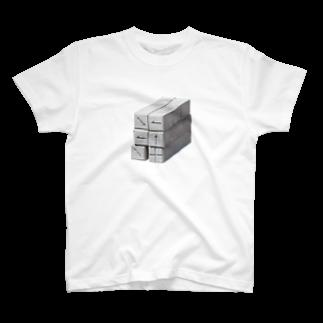 Yusuke Saitohのやじるしブロック T-shirts