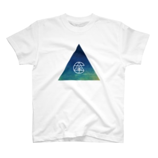 さんかく と ロゴ T-shirts
