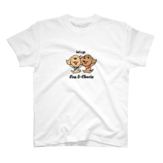 エヴァとシェリー T-shirts