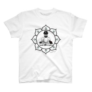 仏像と猫と、 T-shirts
