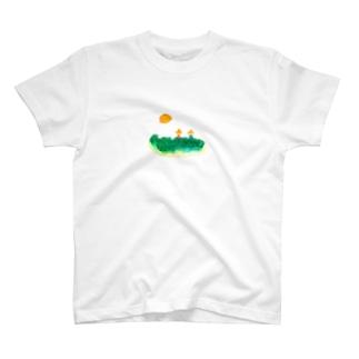 nichiyoura  はたけ T-shirts