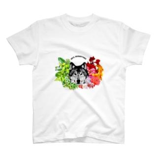 草食系肉食動物ver.オオカミ T-shirts