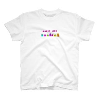 ハッピーライフ T-shirts