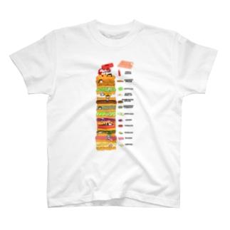 12星座ハンバーガー T-shirts